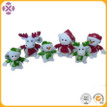 Christmas plush animals, animated plush animals