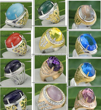 20000 pcs In Stock!Wholesale Indonesia rings hot sell titanium rings for gemstone