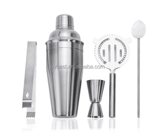 Cocktail Shaker 5pcs Bar Set