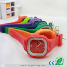 2015 Teenage Fashion Watches / Silicone Jelly Watch