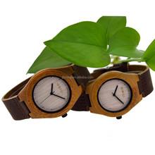 Customized Brand 3ATM waterproof brown wood watch