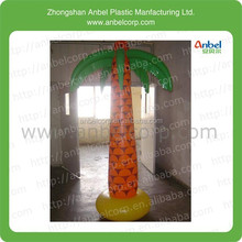 promotion fashion style advertising plastic inflatable coconut tree
