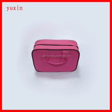 New design!Girl metal zipper Makeup Bag Fashion Cosmetic Case