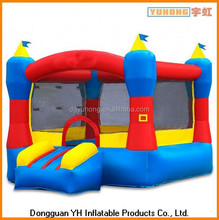 commercial inflatable back yard moonwalk with mesh