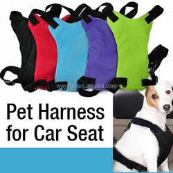 firm pet dog harness dog chest harness for car seat puppy seat belt collar pet lead leash