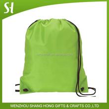 whoelsale nylon bag/drawstring bakcpack/waterproof nylon drawstring bag