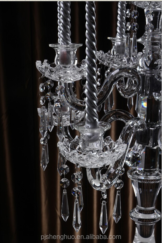 Crystal beads candelabra centerpieces wholesale buy