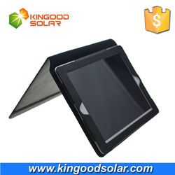 8000mAh PVC dustproof solar case for Ipad 4