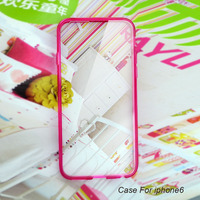 Various colors ultra thin PC+TPU for smartphone cases with OEM