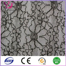 Polyamide/nylon lace fabric allover print lace for fashion children ball gown