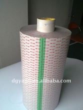 3M VHB acrylic double sided tape Jumbo roll