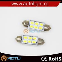 Brighter! 36MM 39MM 41MM 5630 base festoon auto LED indicator light bulbs
