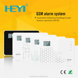 Language Can Be Customized Home GSM Alarm System (Support APP) mobile phone display