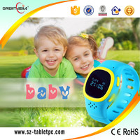 Wrist watch phone gps tracking device for kids / Position monitoring gps watch kids /Sos calling child watch