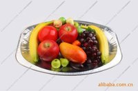 Disposable food grade aluminium foil container/food grade small containers
