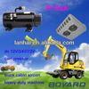 R134a variable refrigerant Lanhai RoHS DC 12V Compressor for automobile air conditioner parts