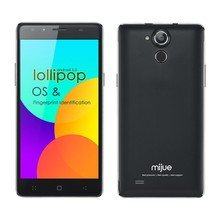 MIJUE T500 5.5 inch FHD 4g lte fdd octa core android mtk 6752 celular phone with Fingerprint Identification & 3gb ram smartphone