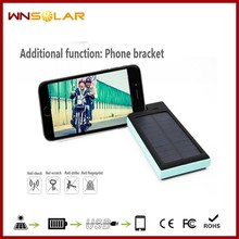 12000mAh solar power bank solar cell phone charger portable solar charger for mobile phone