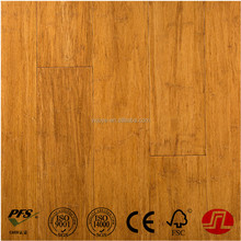 Carbonized And Natural Click lock Strand Woven Bamboo Flooring bamboo look floor tiles