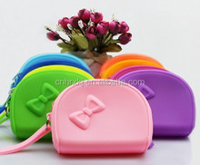 China manufactor Promotional Silicone Hand Bags for Cosmestics /cell phone silicone rubber coin bags