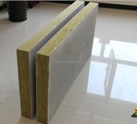 fireproof aluminum foam / rockwool sandwich panel
