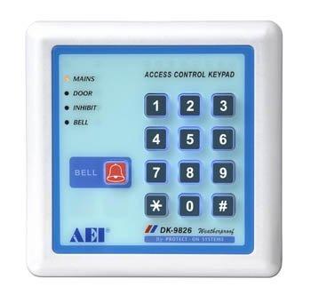 weatherproof back lit digital access control keypad dk 9826 buy access control keypad digital. Black Bedroom Furniture Sets. Home Design Ideas