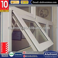 High Quality Aluminum Top Hung Window With German Hardware