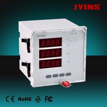 New version JYK-96L-3A CE LED three phase digital ampere meter for 10 years