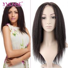 Beauty brazilian yaki straight human hair wig