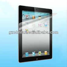 2012 Newest model for ipad mini screen protector with high quality PET material