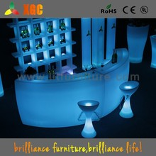 Eye Catching LED Round Bar Counter/ Fashional Lighted Disco Bar Counter/ Lit Counter Used in Event Party//GF330