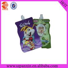 reusable frzen kids food spout pouch