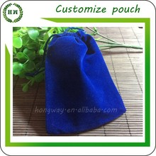 Hongway Good quality small velvet jewelry bags / gem pouch