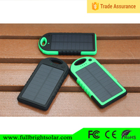 Latest Promotion Waterproof Solar Multi Portable Charger For Mobile Phone