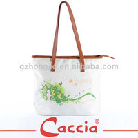 Foldable hanging luxury shopping bag