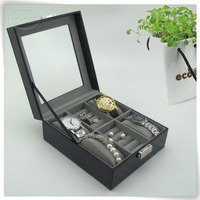 elegant cardboard leather watch box presentation casings