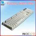Vmq-31 iso9001 fábrica directa teclado ergonómico, usb adaptador de teclado
