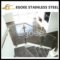 Best selling 304 316 stainless steel railing, plexiglass railing, spiral staircase