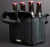 customized neoprene 6 pack carrier tote