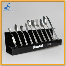 german stainless steel flatware set custom different types of hotel cutlery