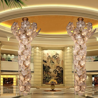 Banquet hall LED chandeliers, banquet hall decoration, Banquet hall chandeliers