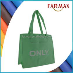 Colorful pp non woven Promotional shopping Bag for consumers
