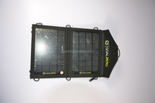 produce Hot selling 7w solar panel charger bag folding portable solar panel for sale