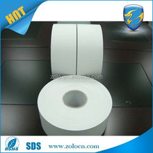 Raw material for Printable white vinyl stickers/destructible adhesive label material