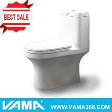 VAMA Single Hole Swirl Flush Siphonic One-Piece Toilet