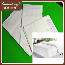 wholesale white hotel 50/50 polyester cotton quilt fabric