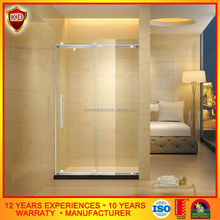 top hung aluminium bathroom shower room