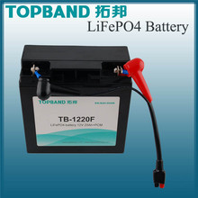 TOPBAND Most Popular 12V 20AH LiFePO4 Electric Golf Trolley Lithium Battery