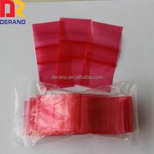 2014 Quality LDPE mini zipper bag 100pcs one pack