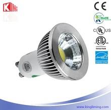 Sitio de compras en línea led gu10 bombilla 5 w 85 - 265 V COB focos led luz ETL / UL / / CE / ROHs